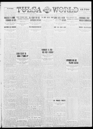 Primary view of object titled 'Tulsa Daily World (Tulsa, Okla.), Vol. 9, No. 207, Ed. 1 Wednesday, May 20, 1914'.