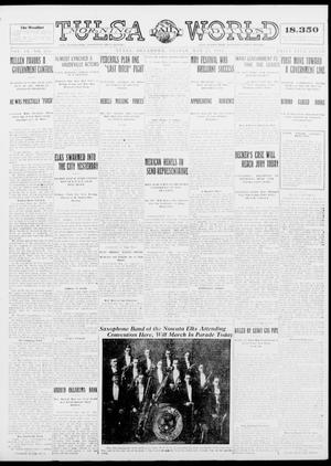 Primary view of object titled 'Tulsa Daily World (Tulsa, Okla.), Vol. 9, No. 209, Ed. 1 Friday, May 22, 1914'.