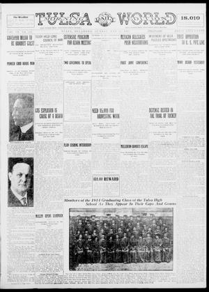 Primary view of object titled 'Tulsa Daily World (Tulsa, Okla.), Vol. 9, No. 211, Ed. 1 Sunday, May 24, 1914'.