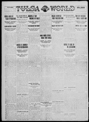 Primary view of object titled 'Tulsa Daily World (Tulsa, Okla.), Vol. 9, No. 217, Ed. 1 Tuesday, June 2, 1914'.