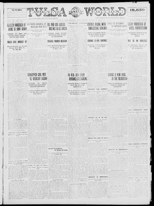 Primary view of object titled 'Tulsa Daily World (Tulsa, Okla.), Vol. 9, No. 224, Ed. 1 Wednesday, June 10, 1914'.