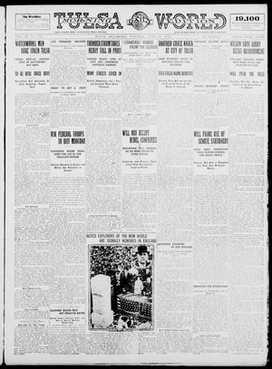 Primary view of object titled 'Tulsa Daily World (Tulsa, Okla.), Vol. 9, No. 229, Ed. 1 Tuesday, June 16, 1914'.