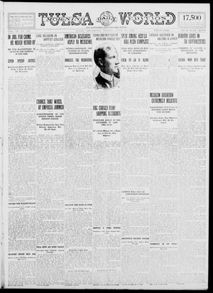 Primary view of object titled 'Tulsa Daily World (Tulsa, Okla.), Vol. 9, No. 232, Ed. 1 Friday, June 19, 1914'.
