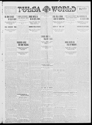 Primary view of object titled 'Tulsa Daily World (Tulsa, Okla.), Vol. 9, No. 236, Ed. 1 Wednesday, June 24, 1914'.