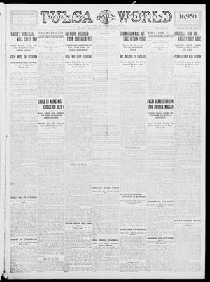 Primary view of object titled 'Tulsa Daily World (Tulsa, Okla.), Vol. 9, No. 239, Ed. 1 Saturday, June 27, 1914'.