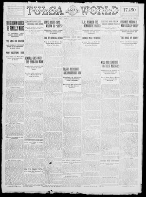 Primary view of object titled 'Tulsa Daily World (Tulsa, Okla.), Vol. 9, No. 242, Ed. 1 Wednesday, July 1, 1914'.