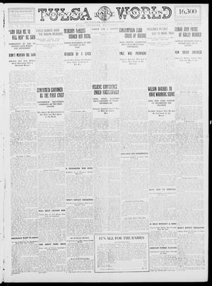 Primary view of object titled 'Tulsa Daily World (Tulsa, Okla.), Vol. 9, No. 248, Ed. 1 Wednesday, July 8, 1914'.