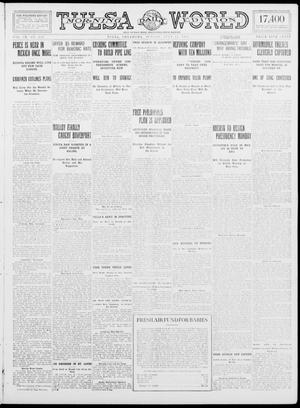 Primary view of object titled 'Tulsa Daily World (Tulsa, Okla.), Vol. 9, No. 252, Ed. 1 Sunday, July 12, 1914'.