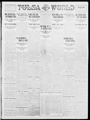 Primary view of object titled 'Tulsa Daily World (Tulsa, Okla.), Vol. 9, No. 259, Ed. 1 Tuesday, July 21, 1914'.