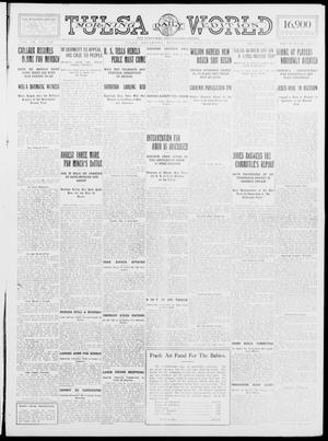 Primary view of object titled 'Tulsa Daily World (Tulsa, Okla.), Vol. 9, No. 260, Ed. 1 Wednesday, July 22, 1914'.