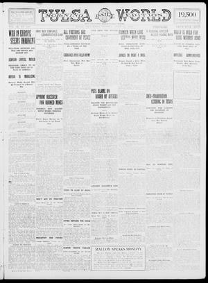 Primary view of object titled 'Tulsa Daily World (Tulsa, Okla.), Vol. 9, No. 264, Ed. 1 Sunday, July 26, 1914'.