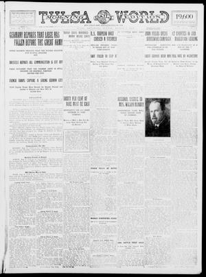 Primary view of object titled 'Tulsa Daily World (Tulsa, Okla.), Vol. 9, No. 275, Ed. 1 Sunday, August 9, 1914'.