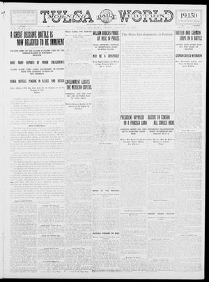 Primary view of object titled 'Tulsa Daily World (Tulsa, Okla.), Vol. 9, No. 279, Ed. 1 Friday, August 14, 1914'.