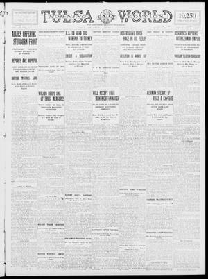 Primary view of object titled 'Tulsa Daily World (Tulsa, Okla.), Vol. 9, No. 291, Ed. 1 Friday, August 28, 1914'.