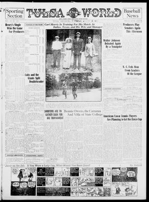 Primary view of object titled 'Tulsa Daily World (Tulsa, Okla.), Vol. 9, No. 293, Ed. 1 Sunday, August 30, 1914'.