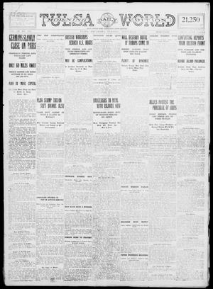 Primary view of object titled 'Tulsa Daily World (Tulsa, Okla.), Vol. 9, No. 294, Ed. 1 Tuesday, September 1, 1914'.