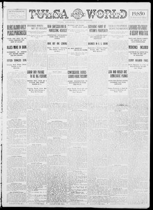 Primary view of object titled 'Tulsa Daily World (Tulsa, Okla.), Vol. 9, No. 299, Ed. 1 Sunday, September 6, 1914'.