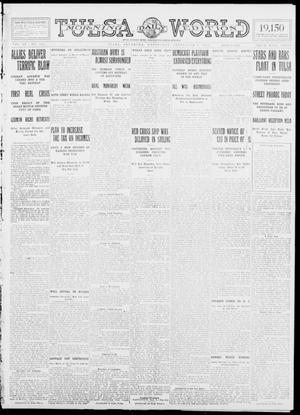 Primary view of object titled 'Tulsa Daily World (Tulsa, Okla.), Vol. 9, No. 301, Ed. 1 Wednesday, September 9, 1914'.