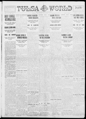 Primary view of object titled 'Tulsa Daily World (Tulsa, Okla.), Vol. 9, No. 312, Ed. 1 Tuesday, September 22, 1914'.