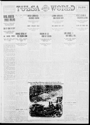 Primary view of object titled 'Tulsa Daily World (Tulsa, Okla.), Vol. 9, No. 313, Ed. 1 Wednesday, September 23, 1914'.