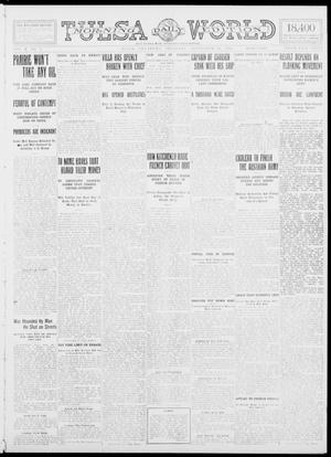 Primary view of object titled 'Tulsa Daily World (Tulsa, Okla.), Vol. 10, No. 1, Ed. 1 Thursday, September 24, 1914'.