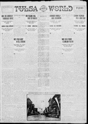 Primary view of object titled 'Tulsa Daily World (Tulsa, Okla.), Vol. 10, No. 10, Ed. 1 Sunday, October 4, 1914'.