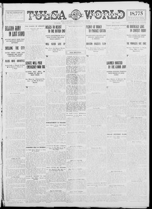 Primary view of object titled 'Tulsa Daily World (Tulsa, Okla.), Vol. 10, No. 14, Ed. 1 Friday, October 9, 1914'.