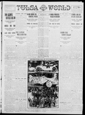 Primary view of object titled 'Tulsa Daily World (Tulsa, Okla.), Vol. 10, No. 20, Ed. 1 Friday, October 16, 1914'.
