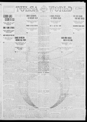 Primary view of object titled 'Tulsa Daily World (Tulsa, Okla.), Vol. 10, No. 21, Ed. 1 Saturday, October 17, 1914'.