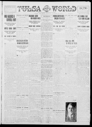 Primary view of object titled 'Tulsa Daily World (Tulsa, Okla.), Vol. 10, No. 23, Ed. 1 Tuesday, October 20, 1914'.