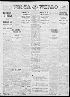Primary view of object titled 'Tulsa Daily World (Tulsa, Okla.), Vol. 10, No. 24, Ed. 1 Wednesday, October 21, 1914'.