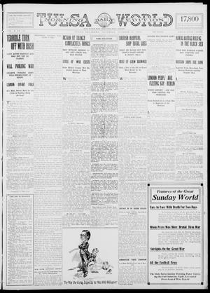 Primary view of object titled 'Tulsa Daily World (Tulsa, Okla.), Vol. 10, No. 33, Ed. 1 Saturday, October 31, 1914'.
