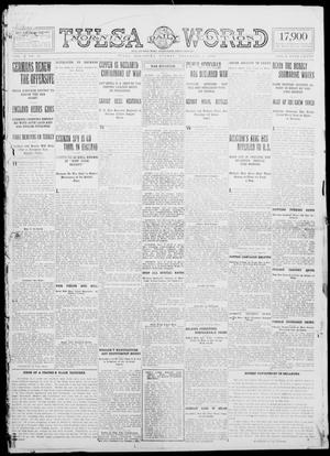Primary view of object titled 'Tulsa Daily World (Tulsa, Okla.), Vol. 10, No. 34, Ed. 1 Sunday, November 1, 1914'.
