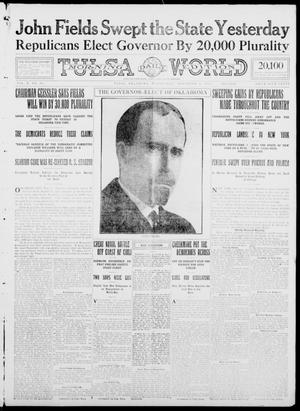 Primary view of object titled 'Tulsa Daily World (Tulsa, Okla.), Vol. 10, No. 36, Ed. 1 Wednesday, November 4, 1914'.