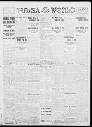 Primary view of object titled 'Tulsa Daily World (Tulsa, Okla.), Vol. 10, No. 40, Ed. 1 Sunday, November 8, 1914'.