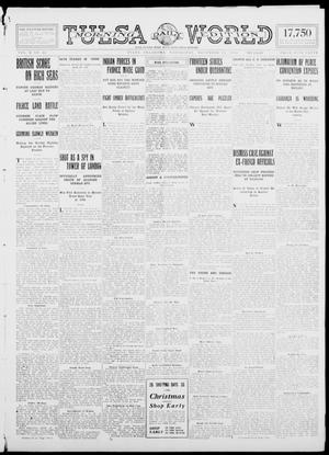Primary view of object titled 'Tulsa Daily World (Tulsa, Okla.), Vol. 10, No. 42, Ed. 1 Wednesday, November 11, 1914'.