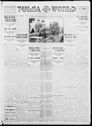 Primary view of object titled 'Tulsa Daily World (Tulsa, Okla.), Vol. 10, No. 44, Ed. 1 Friday, November 13, 1914'.