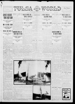Primary view of object titled 'Tulsa Daily World (Tulsa, Okla.), Vol. 10, No. 54, Ed. 1 Wednesday, November 25, 1914'.