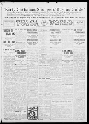 Primary view of object titled 'Tulsa Daily World (Tulsa, Okla.), Vol. 10, No. 58, Ed. 1 Sunday, November 29, 1914'.