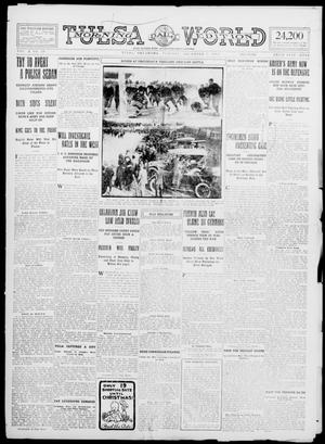 Primary view of object titled 'Tulsa Daily World (Tulsa, Okla.), Vol. 10, No. 59, Ed. 1 Tuesday, December 1, 1914'.