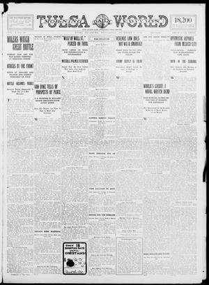 Primary view of object titled 'Tulsa Daily World (Tulsa, Okla.), Vol. 10, No. 60, Ed. 1 Wednesday, December 2, 1914'.