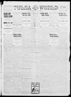 Primary view of object titled 'Tulsa Daily World (Tulsa, Okla.), Vol. 10, No. 62, Ed. 1 Friday, December 4, 1914'.