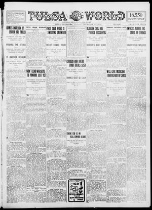 Primary view of object titled 'Tulsa Daily World (Tulsa, Okla.), Vol. 10, No. 71, Ed. 1 Tuesday, December 15, 1914'.