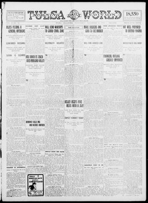 Primary view of object titled 'Tulsa Daily World (Tulsa, Okla.), Vol. 10, No. 72, Ed. 1 Wednesday, December 16, 1914'.