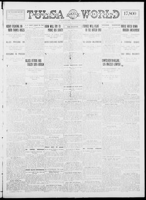 Primary view of object titled 'Tulsa Daily World (Tulsa, Okla.), Vol. 10, No. 78, Ed. 1 Wednesday, December 23, 1914'.