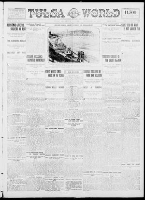 Primary view of object titled 'Tulsa Daily World (Tulsa, Okla.), Vol. 10, No. 81, Ed. 1 Saturday, December 26, 1914'.