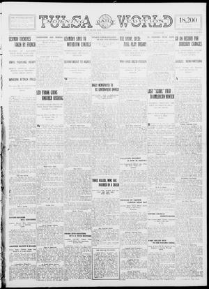 Primary view of object titled 'Tulsa Daily World (Tulsa, Okla.), Vol. 10, No. 83, Ed. 1 Tuesday, December 29, 1914'.