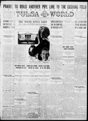 Primary view of object titled 'Tulsa Daily World (Tulsa, Okla.), Vol. 10, No. 101, Ed. 1 Tuesday, January 19, 1915'.