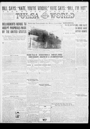 Primary view of object titled 'Tulsa Daily World (Tulsa, Okla.), Vol. 10, No. 151, Ed. 1 Thursday, March 18, 1915'.