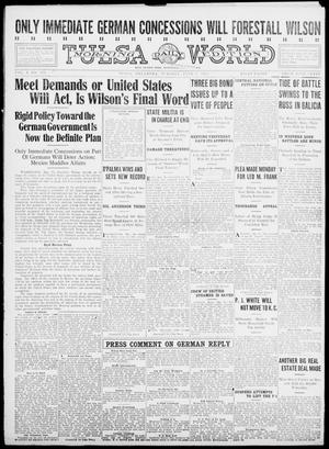 Primary view of object titled 'Tulsa Daily World (Tulsa, Okla.), Vol. 10, No. 215, Ed. 1 Tuesday, June 1, 1915'.